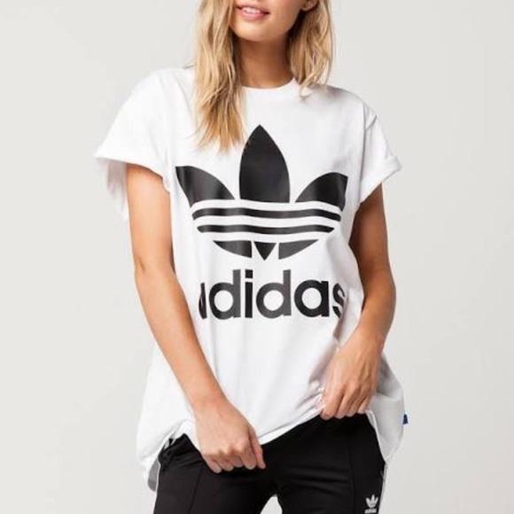 Adidas al massimo nwt gran trifoglio t - shirt poshmark